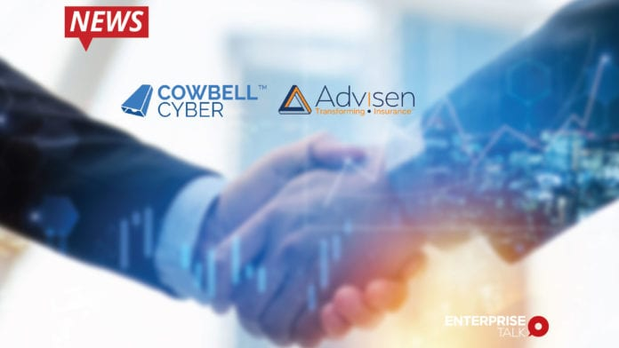 Cowbell Cyber , Advisen, Data Partnership, Artificial Intelligence (AI)-powered cyber insurance